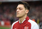 london england mesut ozil arsenal before