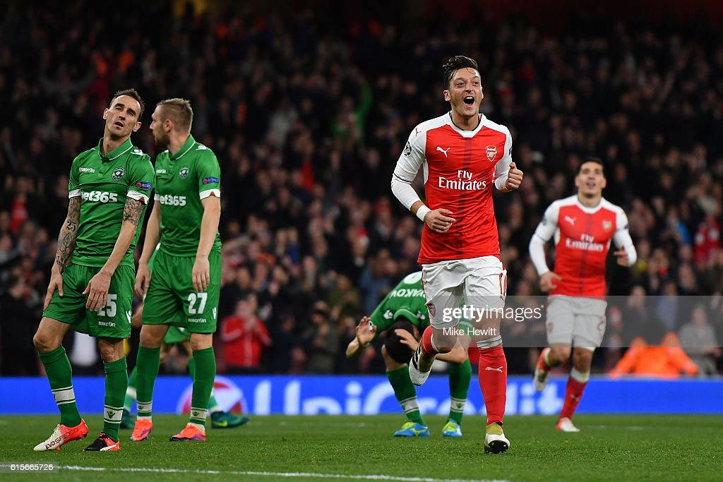 Arsenal FC v PFC Ludogorets Razgrad - UEFA Champions League : News Photo