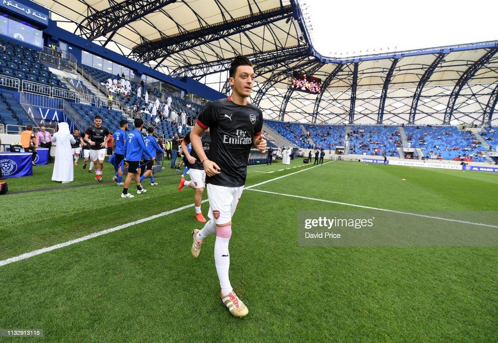 Al-Nasr Dubai SC v Arsenal - Friendly : News Photo