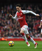 london england mesut ozil arsenal during