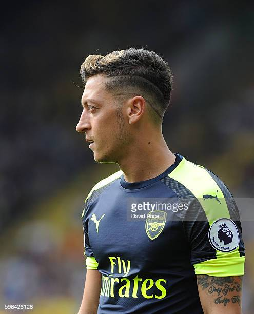 Mesut Ozil of Arsenal during the Premier League match between Watford and Arsenal at Vicarage Road on August 27 2016 in Watford England