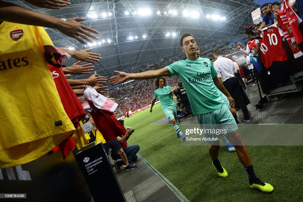 Arsenal v Paris Saint Germain - International Champions Cup 2018 : News Photo