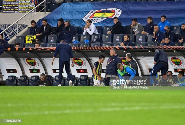 Mesut Ozil of Fenerbahce during the UEFA Europa League group D match between Fenerbahce and Royal Antwerp FC at sukru Saracoglu Stadium on October...