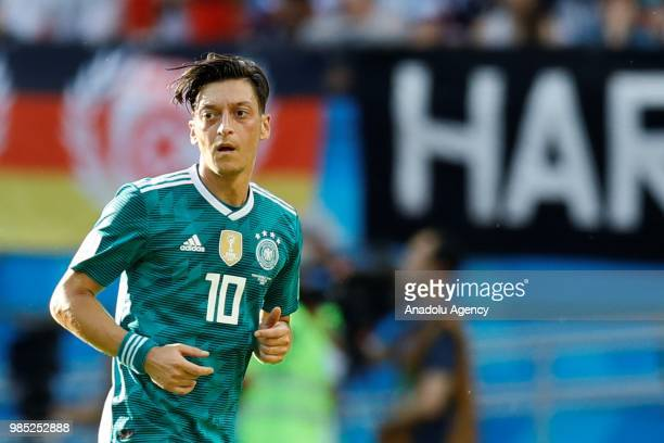 Mesut Ozil of Germany is seen during the 2018 FIFA World Cup Russia Group F match between Korea Republic and Germany at the Kazan Arena in Kazan...