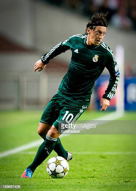 Mesut Ozil of Real Madrid CF in action during the UEFA Champions League group stage match between AFC Ajax and Real Madrid CF at the Amsterdam ArenA...