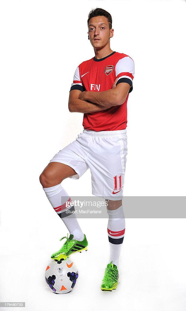 Photo Shoot With Mesut Ozil, German International and New Arsenal Signing