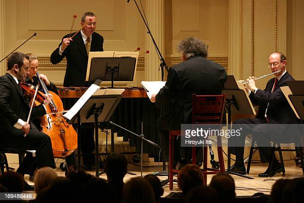 Met Chamber Ensemble performing at Weill Recital Hall on Sunday afternoon December 19 2004Met Chamber Ensemble performing Charles Wuorinen's New York...