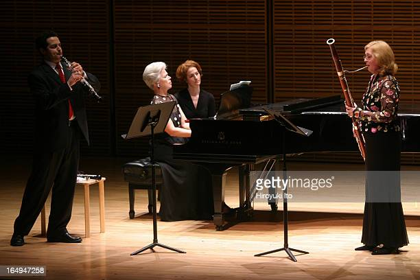 Met Chamber Ensemble performing at Zankel Hall on Sunday afternoon April 23 2006This imageMet Chamber Ensemble performing Poulenc's Trio for Piano...