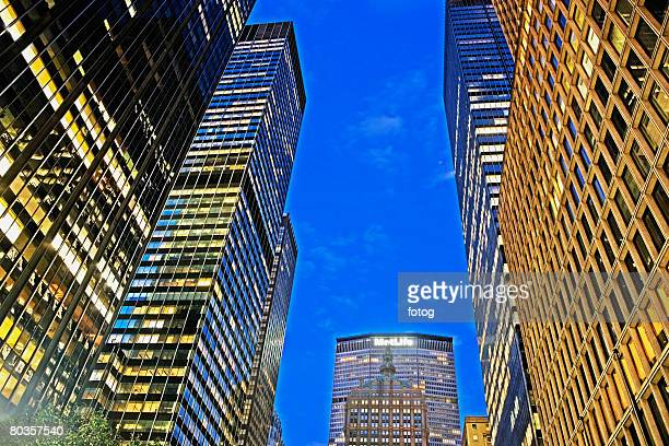 met life building, new york city - metlife building stock pictures, royalty-free photos & images