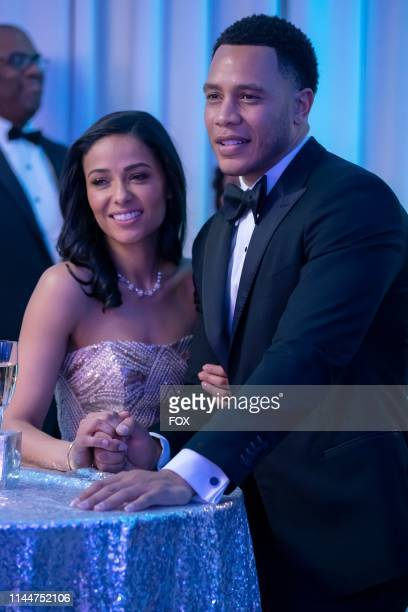 Meta Golding and Trai Byers in the Never Doubt I Love episode of EMPIRE airing Wednesday April 24 on FOX