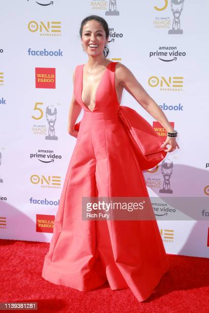 Meta Golding attends the 50th NAACP Image Awards at Dolby Theatre on March 30 2019 in Hollywood California