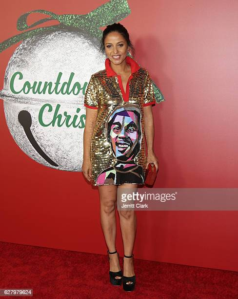 meta golding attends the screening of hallmark channels a nutcracker christmas at the grove