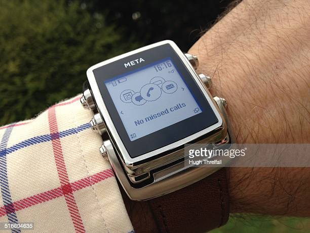 Meta watch, smartwatch designed by Frank Nuovo.