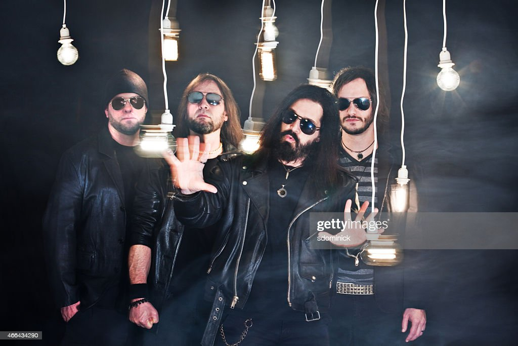 Metal Band Promo Photo : Stock Photo