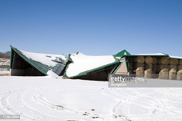 Metal Barn Roof Collapse