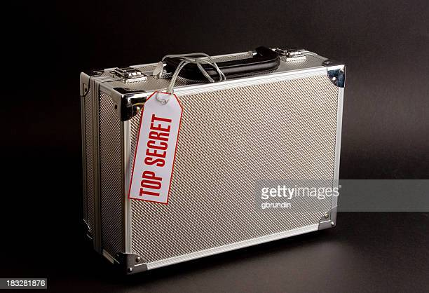 Metal case: Top Secret