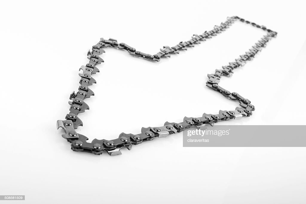 metal chain saw pattern background : Bildbanksbilder