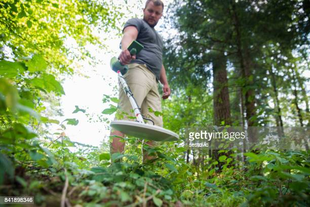 metal detecting - metal detector stock photos and pictures