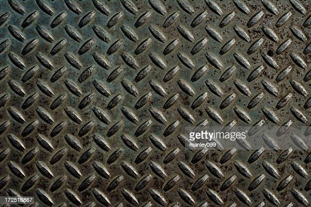 metal diamond plate background XXL