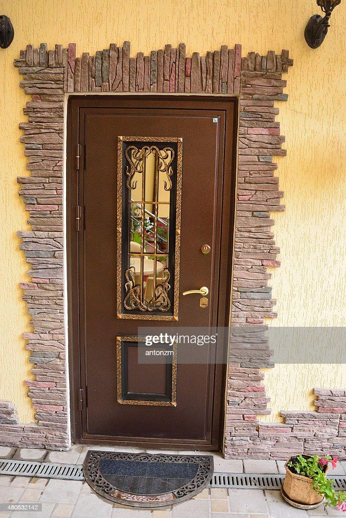 金属製ドア : ストックフォト