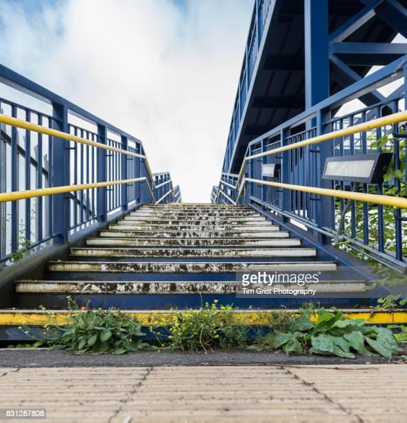 Metal Footbridge Steps