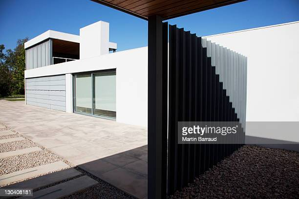 Metal gate of modern house