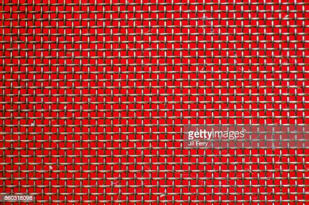 metal grid - wire mesh stock pictures, royalty-free photos & images