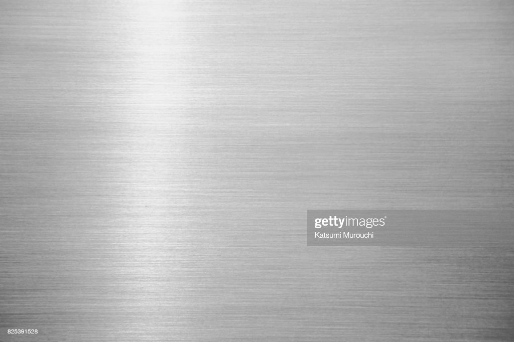 Metal hairline texture background : Stock Photo