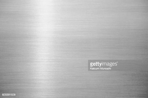 metal hairline texture background - metallic stock photos and pictures