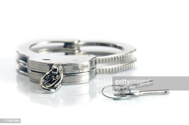 Metall Handschellen