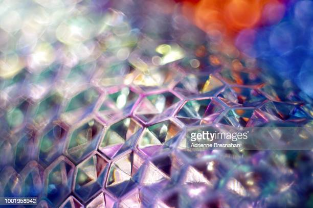 Metal Honeycomb Abstract
