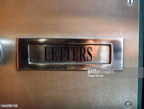 Metal letter-box
