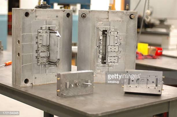 Unidades de moldagem, de Metal