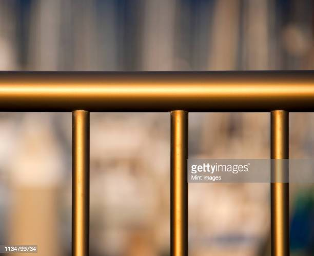 metal railing - railing stock pictures, royalty-free photos & images