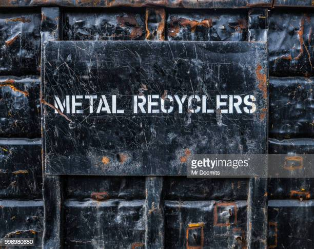 Metal Recycling Dumpster