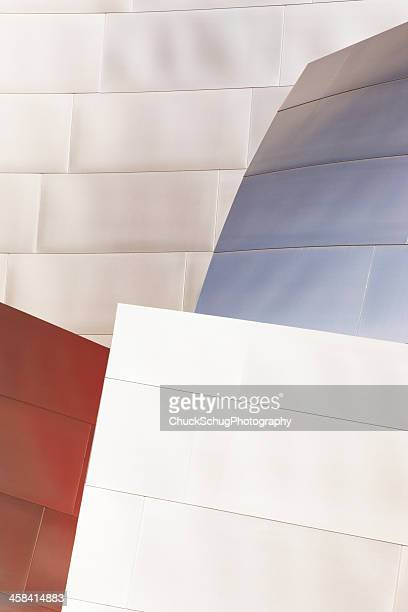 Metal Siding Wall Architecture Abstract