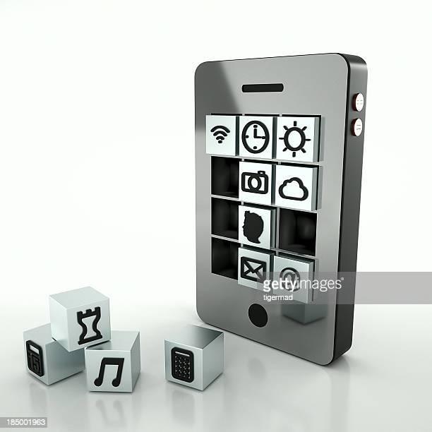 metal smart phone
