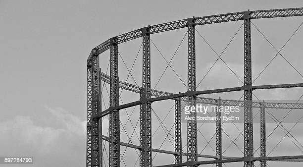 Metal Structure Against Sky
