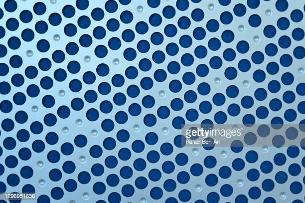 metal surface background on industrial wall - rafael ben ari stock-fotos und bilder