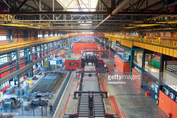 Metal tube production line
