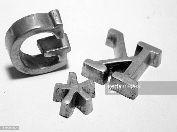 type en métal