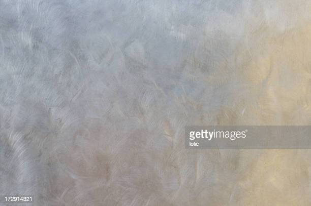 Metal wall - pastel abstract reflections