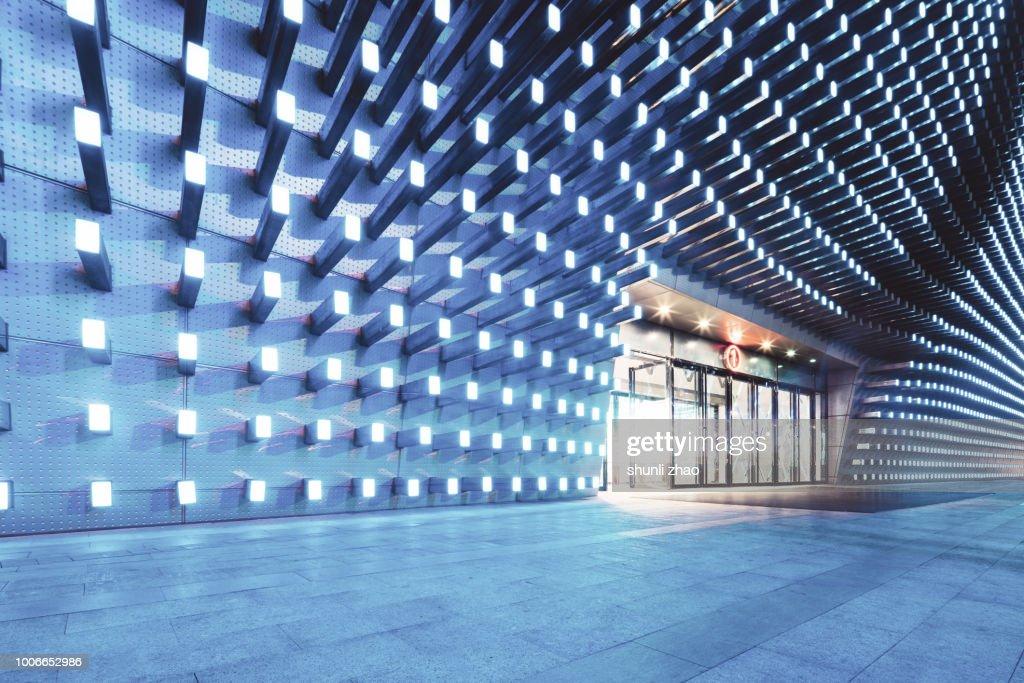 Metal wall : Stock Photo