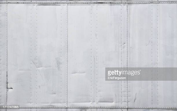 Metal Wall with Rivets Background