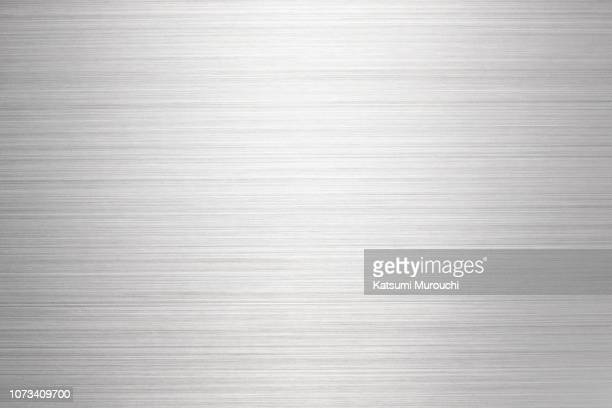 metalic hairline background - silver metal stock pictures, royalty-free photos & images
