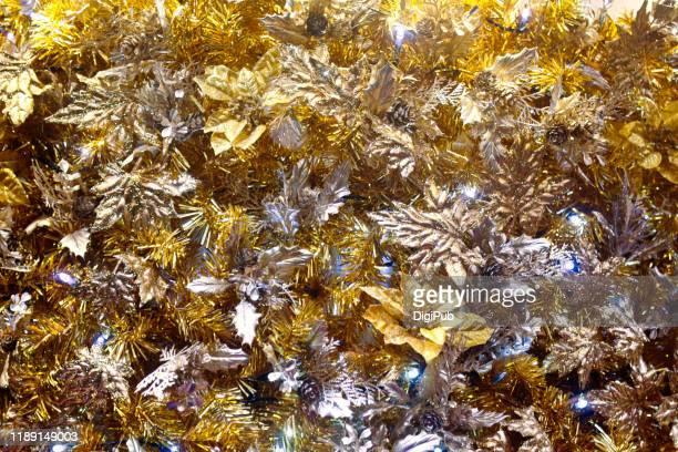 metallic christmas decoration - 十一月 ストックフォトと画像