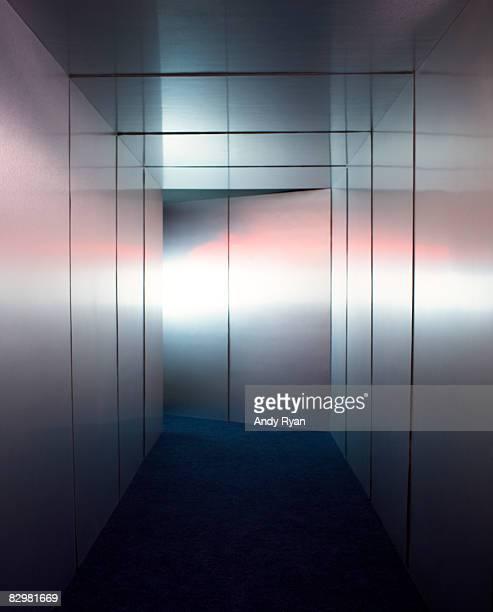 Metallic Corridor
