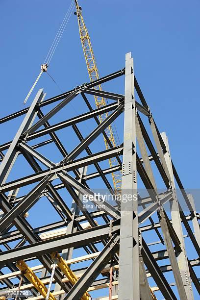 metallic girders