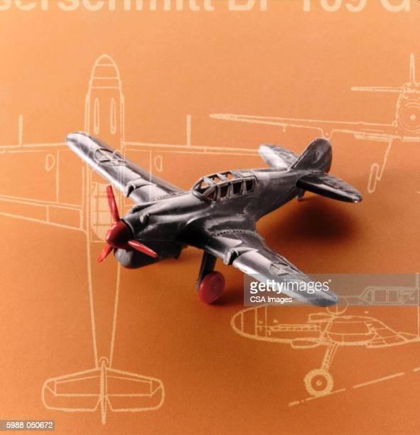 Metallic Model Airplane