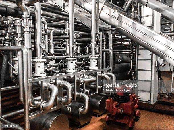 Metallic Pipes In Industry